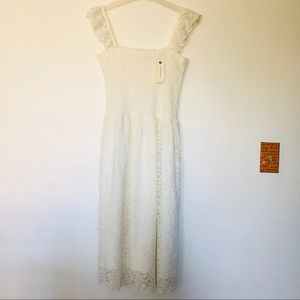 Maeve White Dress New
